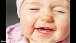 آهنگ جشن دندونی کودک نوزاد