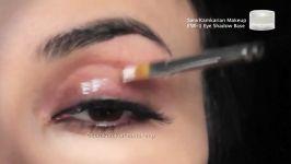 گریم میکاپآموزش میکاپجدیدترین میکاپ عروس آموزش آرایش چشم ایرانی