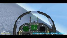 پرواز جنگنده FA 18 هورنت در شبیه ساز پرواز WOE