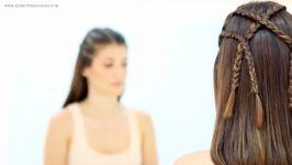 آموزش بافت شینیون موی کوتاه  5 مدل آرایش موی کوتاه  شینیون