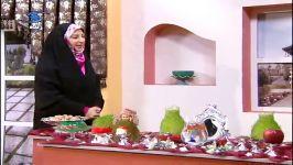 ویژه عید نوروز  کاشت سبزه روی عروسک برای سفره هفت سین