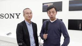 مصاحبه مدیر سونی Yosuke Someya درباره نمایشگر ۲۱۹ سونی گوشی 5G