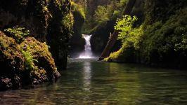 ✅ رودخانه ها آبشارهای آرامش بخش، برای مطالعه، خواب، آرامش بخش