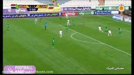 خلاصه بازی تیم ملی امید عراق ایران