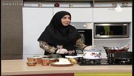 ویژه عید نوروز  خانم حسینی آموزش تهیه چیز کیک یخچالی