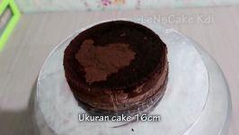 کیک تولد منحصر به فرد ساده ساده توسط LeNsCake Kdi