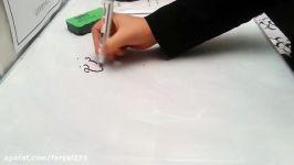 روش اول طراحی یقه فرنچ کلیپ دوم آموزش یقه فرنچ