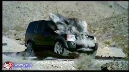 آزمایش گلوله تانک روی خودروی سواری  تانک مقابل خودرو