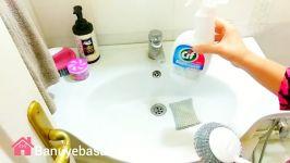 ایده های نظافت سرویس بهداشتی چطور هزینه کم سرویس بهداشتی را تزیین کنیم؟