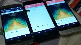 HTC BUTTERFLY 2 .VS HTC ONE M8 .VS HTC ONE E8 SPEAKER