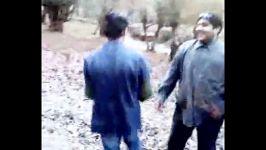 شادی اعضای گروه سیرابی ها در جنگل های آمل