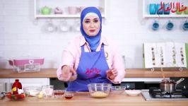 پنیر کیک توت فرنگی  ماه رمضان آشپزخانه منال 2019  ماه رمضان