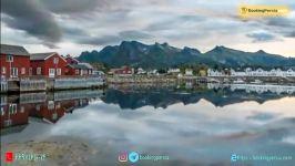 نروژ کشوری سرد زیبا در اسکاندیناوی  بوکینگ پرشیا bookingpersia