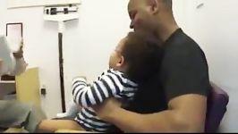 امپول زدن بچه نمی فهمه