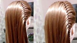 مدل بافت شیک زیبا برای موهای بلند