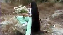 چالش موهای خیلی بلند  موهای بلند زیبا