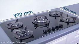 اجاق گاز ایتالیایی اجاق رومیزی گاز صفحه ای خرید Bimax.ir