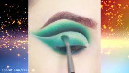 گنجینه آموزش آرایش چشم  آرایش صورت  میکاپ چشم ترفند های آرایشی سایه چشم