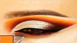 آموزش آرایش چشم میکاپ چشم سایه چشم خط چشم شماره 17