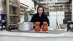 آموزش ترشی سالاد مشهدی یا ترشی گوجه یکی پرطرفدارترین ترشی های ایرانی