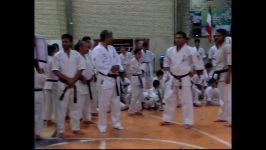 هفته تربیت بدنی کاراته کاران بیرجندی. کاراته سلیمانی