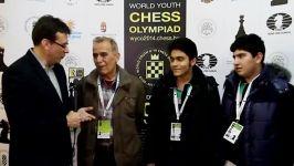 تیم ملی نوجوانان ایران در المپیاد نوجوانان جهان 2014