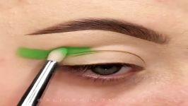 آموزش آرایش چشم سایه سایه های طرح دار مدل های زیبای سایه چشم
