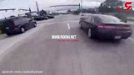 ویراژ دادن بی مهابا موتور سوار عاقبت خوش آیندی برایش نداشت