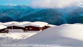 مناظر برفی دیدنی کشور سوئیس...