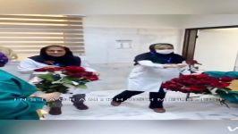 کار زیبای بچه های شاهین شهر در تقدیر پرسنل زحمت کش بیمارستان گلدیس شاهین شهر