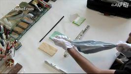 نحوه تمیز کردن فلوت کیت تمیز کننده Stagg SCK FL