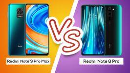 مقایسه گوشی ردمی نوت 9 پرو مکس ردمی نوت 8 پرو note 9 pro max VS note 8 pro