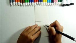 اموزش نقاشی کاردستی برای کودکان  کاردستی ساده اسان