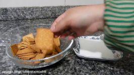 کیک پزی تهیه فلن کیک کیک یخچالی
