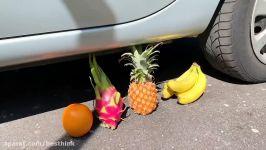خرد کردن چیزهای نرم ترد ماشین قسمت 6  له کردن میوه ها