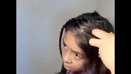 بافت مدل موی قلبی  بافت قلب روی مو  بسیار زیبا