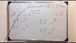 بخش۱ پودمان۴  ریاضی دهم هنرستان دکتر عسگری هنرستان علم تکنیک