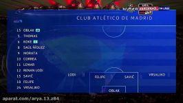 خلاصه بازی اتلتیک مادرید لیورپول لیگ قهرمانان اروپا...دور رفت...