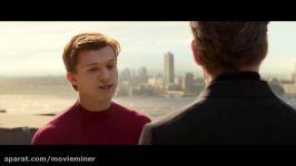 فیلم سینمایی Spider Man 2017 مرد عنکبوتی سکانس پس گرفتن لباس مرد عنکبوتی
