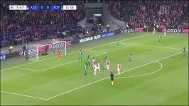 خلاصه دیدار آژاکس 2 3 تاتنهام مسابقه برگشت مرحله نیمه نهایی لیگ قهرمانان اروپا