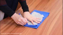 آموزش ساخت ماسک N95 در خانه   ساده آسان