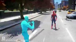 نبرد بی رحمانه مرد عنکبوتی شگفت انگیز مرد عنکبوتی آبی شگفت انگیز در جی تی ای