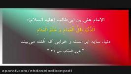نغمه ای زیبا به عشق امام حسین ع نوای محمد حسین پویانفر شب23ماه مبارک99