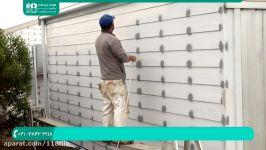 آموزش نقاشی رنگ آمیزی ساختمان  رنگ آمیزی سقف دیوار نقاشی پیستوله
