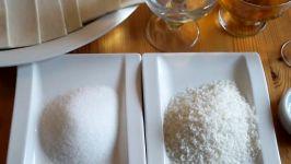 شیرینی زبان ازآشپزخانه خوراک ایرانی  روش آسان پخت شیرینی زبان شهدابه شیرینی