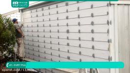 آموزش نقاشی ساختمان  رنگ ساختمان  رنگ امیزی خانه رنگ آمیزی دیوار پیستوله