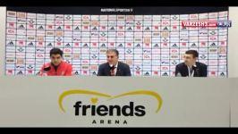 صحبتهای کیروش بعدازبازی سوئد درمورد تیم ملی خداحافظی
