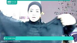 آموزش بستن روسری  جدیدترین مدل بستن شال روسری بستن پوشش زیر روسری