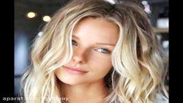 دمو سابلیمینال فارسی موهای بلوند پرپشت بلوند برای مرد زن