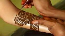 آموزش حنا کردن دست پای عروس طراحی لباس عروس